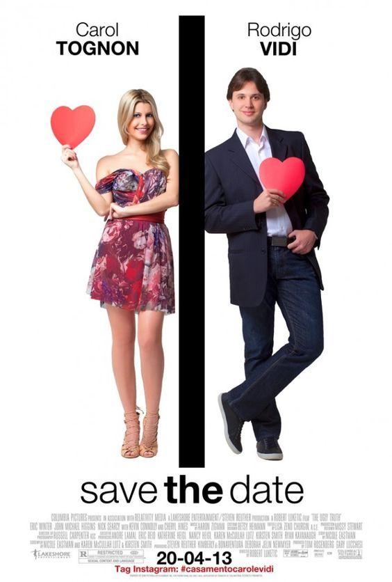 Save the date Inspirado no filme Verdade Nusa e Crua, muito legal. #casamento #criativo
