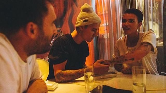 Justin Bieber and Ruby Rose continue their close friendship.