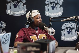 Check out YG talking about his new album #MyKrazyLife up in Big Boy's Neighborhood at Power 106 FM rocking #MonsterNPulse