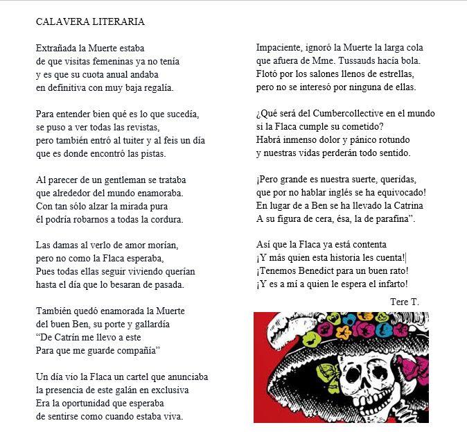 """Escribir """"Calaveras Literarias"""" es una de las tradiciones más artísticas que se siguen en la fiesta mexicana del Día de Muertos, que data del Siglo XIX. Originalmente eran epitafios con tintes polí..."""