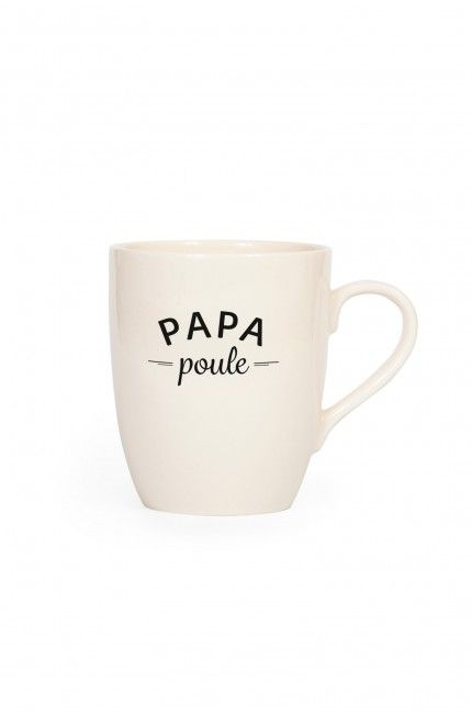 Tasse Papa Poule - Edition limitée EMOI EMOI - Photo