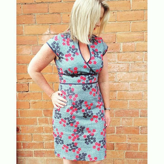 The gorgeous Julie looking absolutely stunning in our Sophie Dress🌸💙