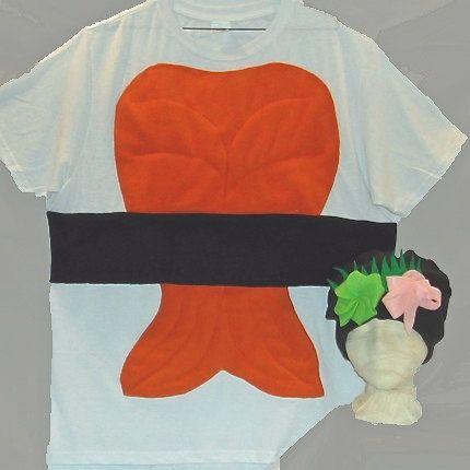 Adult  DIY Do It Yourself Halloween Sushi Costume. $35.00, via Etsy.