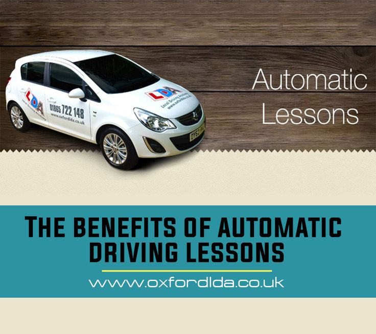 Automatic driving lessons for nervous drivers can be extremely useful. For anyone that's failed their test multiple times, or drivers who get nervous behind the wheel, automatic driving lessons could be ideal. See more: https://goo.gl/bZYzMG  #AutomaticDrivingLessons #LocalDrivingAcademy #DVLAtest #LDA #DrivingTips #Affordable #DrivinginOxford #DrivingLicense #DrivingSchool #Lessons #Course #PracticalTest #Oxford #UK #Roads #Tips #School #DrivingApp #Learner #DrivingTestRoute