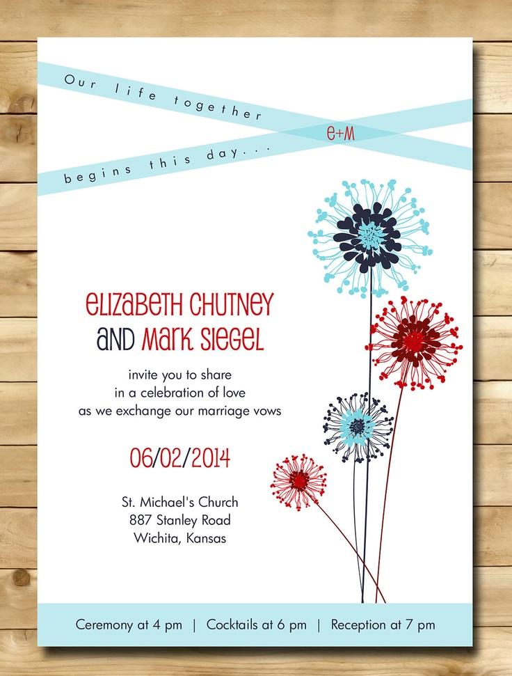 28 best Wedding Invitations images on Pinterest Wedding stationary - formal invitation style