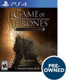 Game of Thrones - A Telltale Game Series - PRE-Owned - PlayStation 4, Multi, PREOWNED