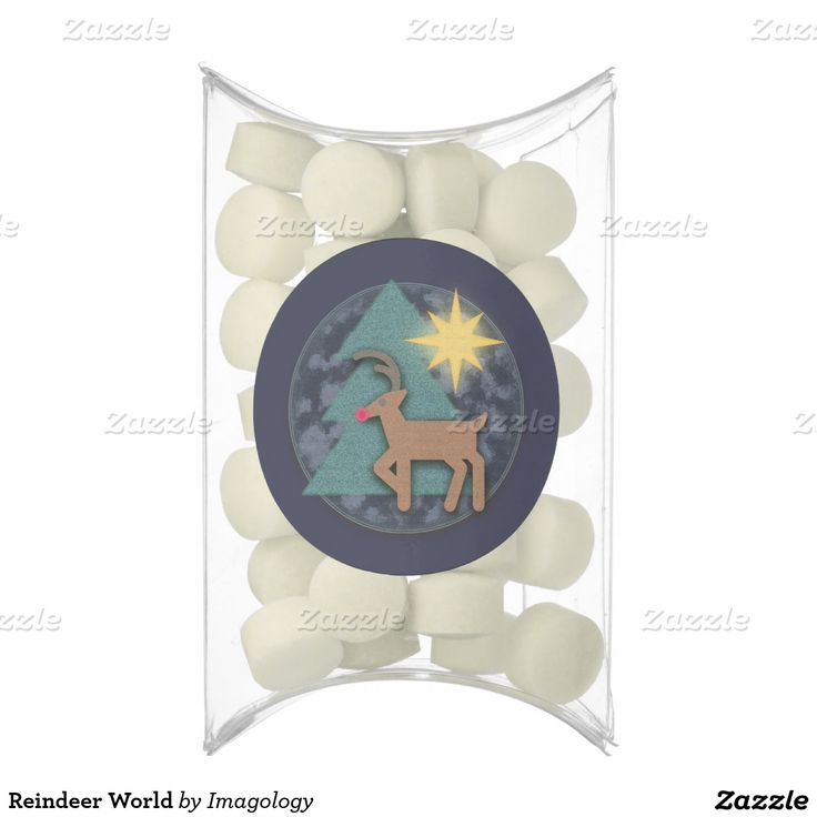 Reindeer World Chewing Gum Favors