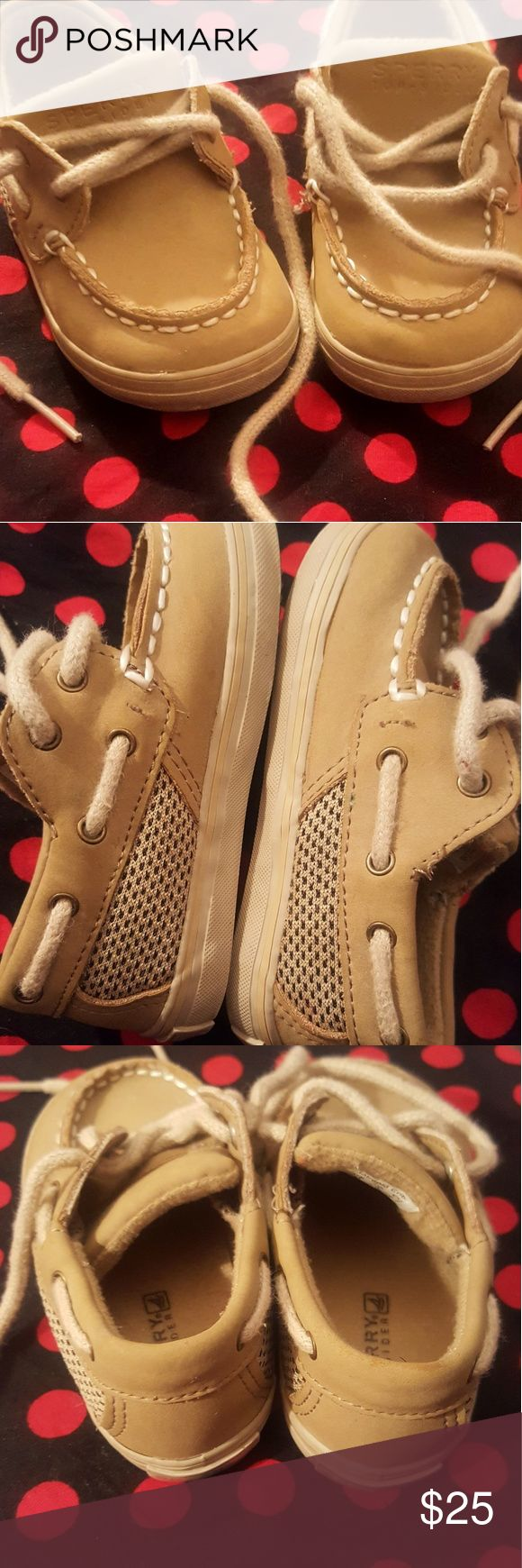 Baby Sperry's Like new! In Great condition! Sperry Top-Sider Shoes Dress Shoes
