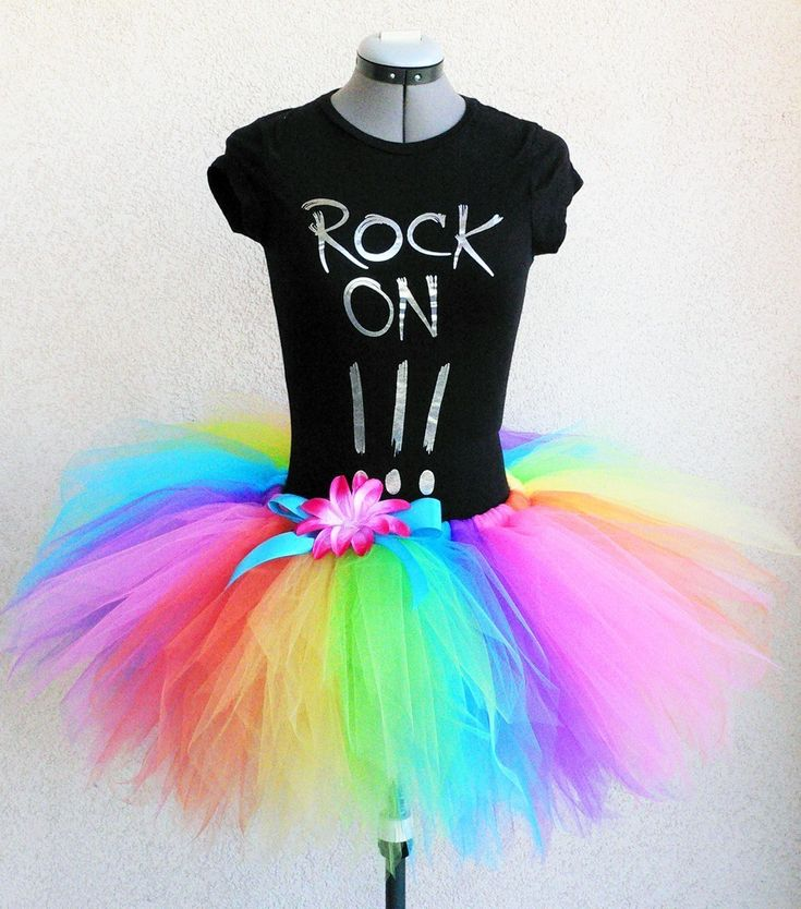 Brilliant Rainbow Pixie Tutu - For Teens or Adults - Custom SEWN 15'' Pixie Tutu - up to 34'' waist. $55.00, via Etsy.