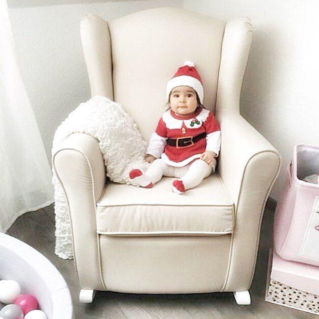 #weihnachten #christmas #weihnachten2018 #stillsessel #schaukelsessel  #ohrensessel #babysweihnachten #weihnachtsbaby