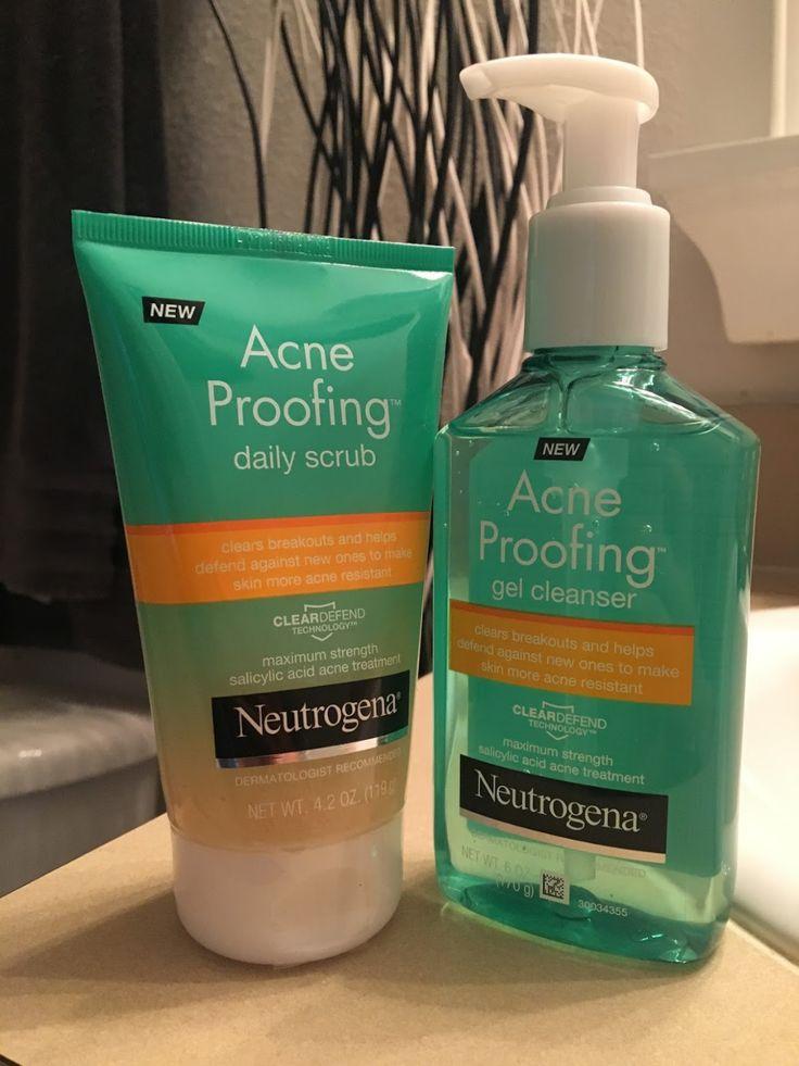 Hallo! Ich versuchte das Reinigungsmittel und das Peeling von Neutrogena   – ✽ Beauty Hacks ✽