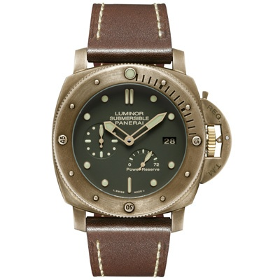 Luminor Submersible 1950 3 Days Power Reserve Automatic Bronzo http://www.orologi.com/cataloghi-orologi/panerai-special-editions-luminor-submersible-1950-3-days-power-reserve-automatic-bronzo-pam00507