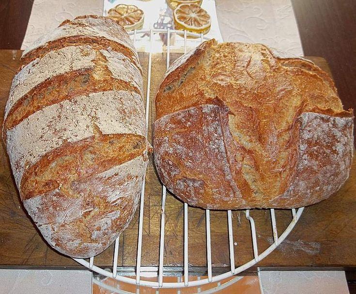 Rezept Helles Bauernbrot von hannes2001 - Rezept der Kategorie Brot & Brötchen