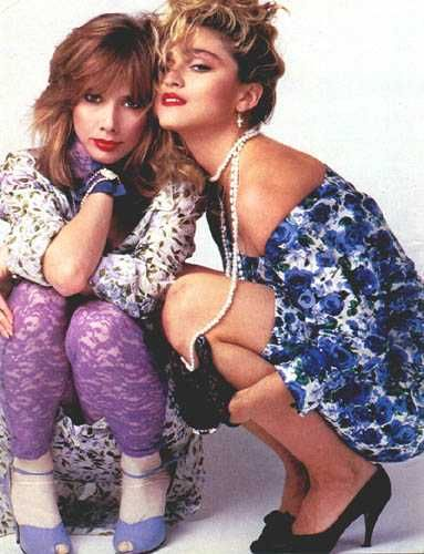 Promotional pictures for Desperately Seeking Susan from Rolling Stone.