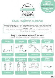 Circuit pour raffermir sa poitrine - Lotus & Bouche Cousue