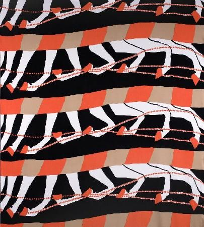 Gallop. 1973. Production: Katja of Sweden. Printed Qiana-jersey.