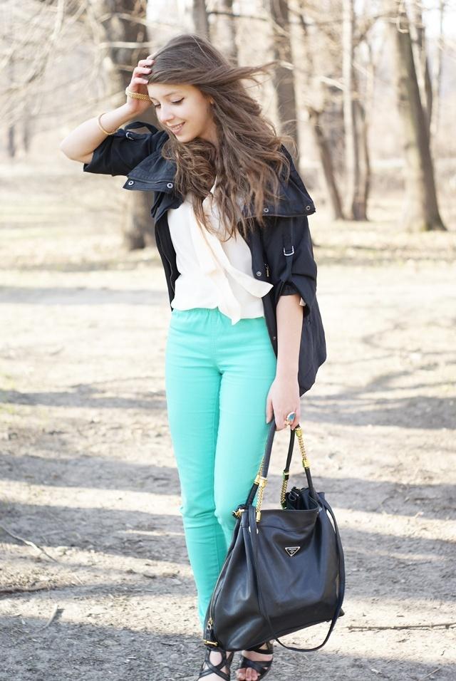 aqua jeans inspiration
