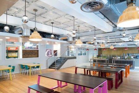 Conoce las nuevas oficinas de Coca Cola en Londres