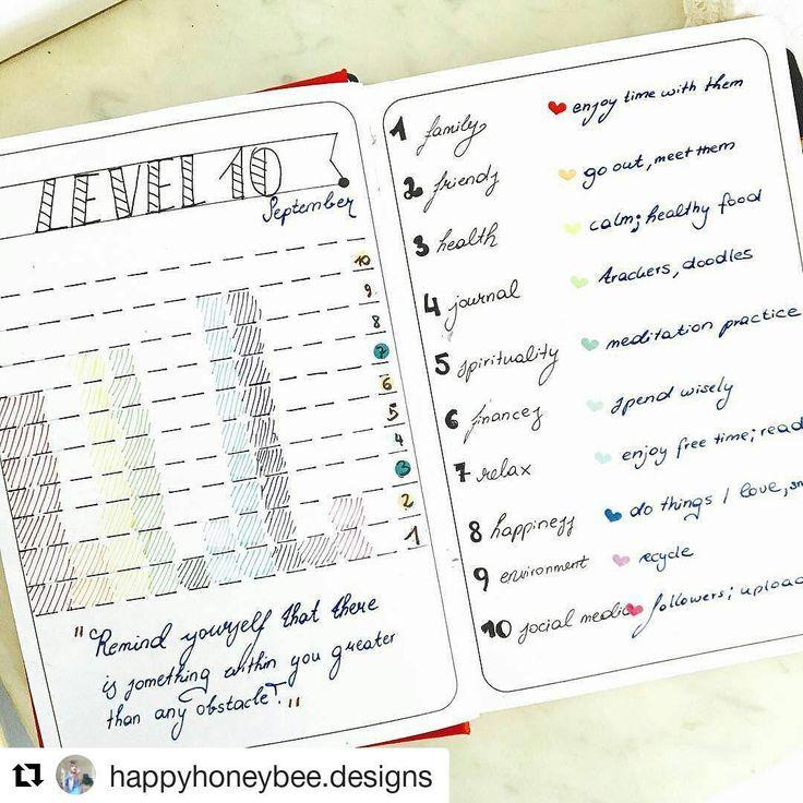 Amei esse resumo de Setembro! Que tal fazer o seu e perceber tudo que pode ser melhorado para o próximo mês?  #Repost @happyhoneybee.designs with @repostapp ・・・ Level 10 for September🍂👍🏻 I love making this monthly logs❤️ --------------------------------------- Use #bujoinspire para compartilhar seu BuJo conosco, caso sua conta seja privada envie por Direct. #bulletjournal #meupapiro #bujo #bujojunkies #bujobrasil #studyblr #studyspo #journal #sketchbook #moleskine #leuchtturm1917 #agenda…