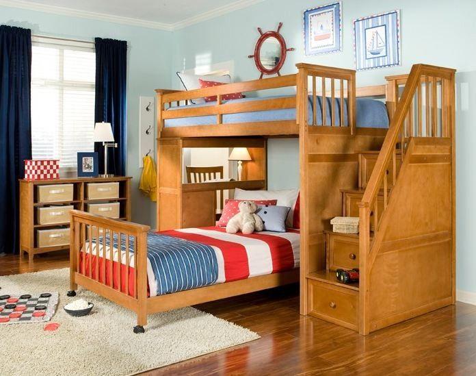 46 Best Bunk Beds Images On Pinterest Bunk Beds 3 4