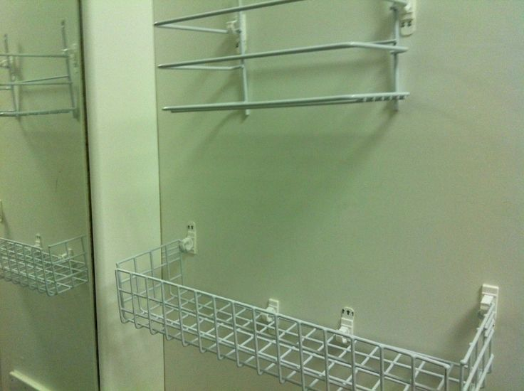 Diy Shelf Top And Bottom For Shower Using Command Strips Cord Clips Bathroom Racks The Suite Life Pinterest Rack