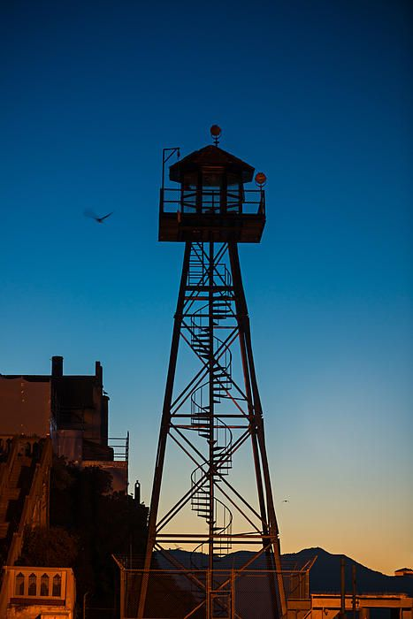 Alcatraz gaurd tower by Steve Gadomski