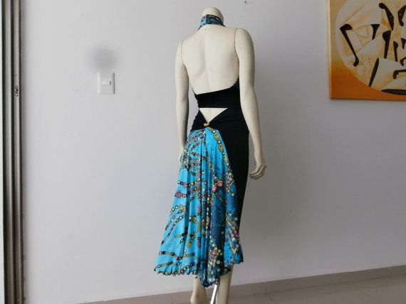 Milonga Tango Dress / Salsa Skirt & Top 2pc by COCOsDANCEWEAR