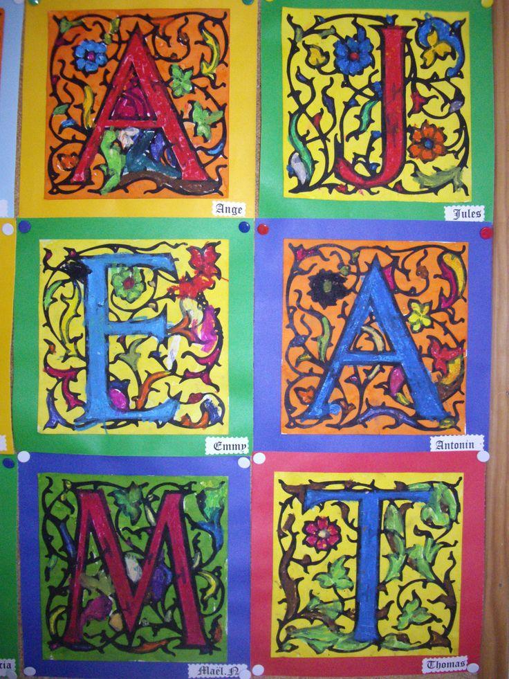 reconnaitre son prénom maternelle art visuel - Recherche Google