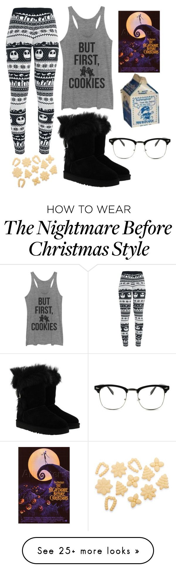 """""""Christmas Eve"""" by virusandglitches on Polyvore featuring Fifth Sun, UGG and Sur La Table"""
