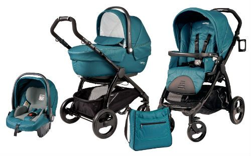 Peg Perego Book Plus - I have this set minus the bassinet attachment. I love it but you should check out the Uppababy. I think you will like the orange color and the whole system seems less bulky.