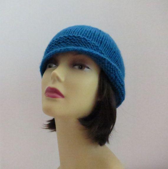 PDF 173 Vintage Flapper Hat, Vintage, Knit Hat Pattern A Great Beginner Patte...