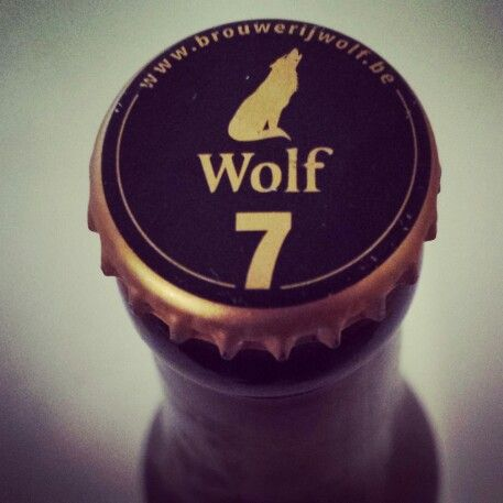 founded in 2003, Wolf beer is named after Lupus, which means wolf. Also Humulus Lupus means hop. WOLF 7 is a blond beer brewed in coöperation with Brouwerij Het Anker in Mechelen.
