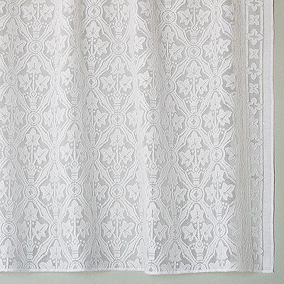 cotton lace curtains victorian era bradbury bradbury