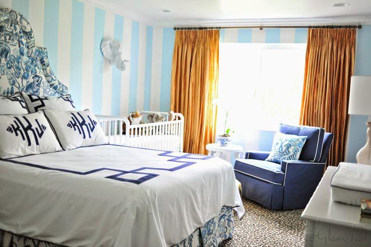One Room Challenge: Palm Beach Regency Nursery Reveal - The Glam Pad