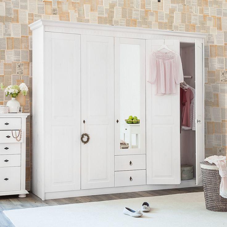 Пятидверный шкаф из сосны Боцен Д-6163 | Шкафы | СПАЛЬНЯ | Интернет-магазин…