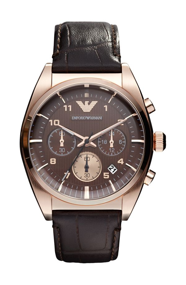 Emporio Armani AR0371 Gents Stainless Steel Rose Gold