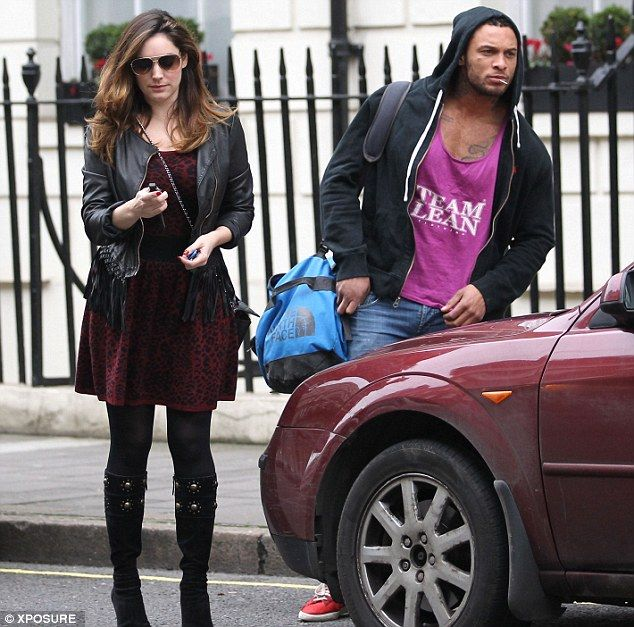 Kelly Brook and hunky new beau David McIntosh            LOVE THIS GIRL ♥ ♥