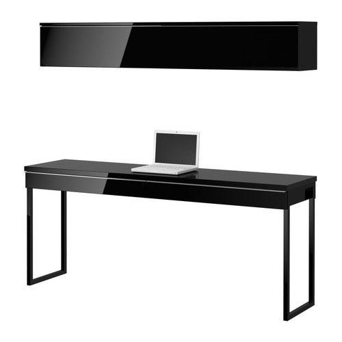 Besta burs desk office furniture pinterest long for Long office desk