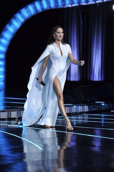 Justyna Steczkowska dress by Lilit