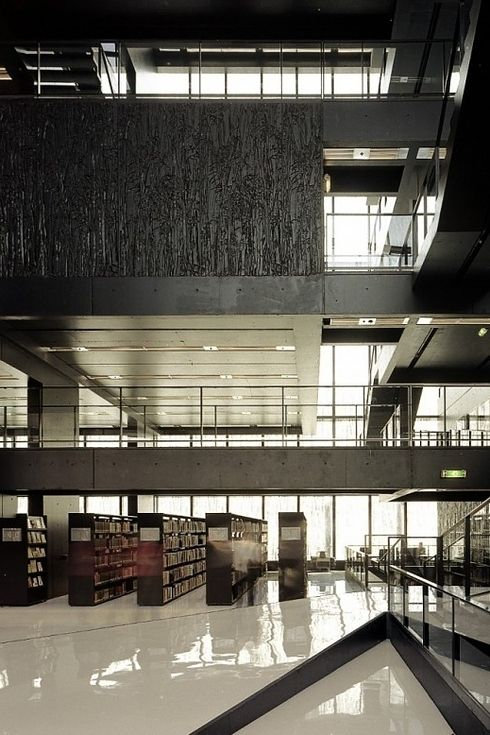 Library at Utrecht University — Utrecht, Netherlands | 49 Breathtaking Libraries From All Over The World