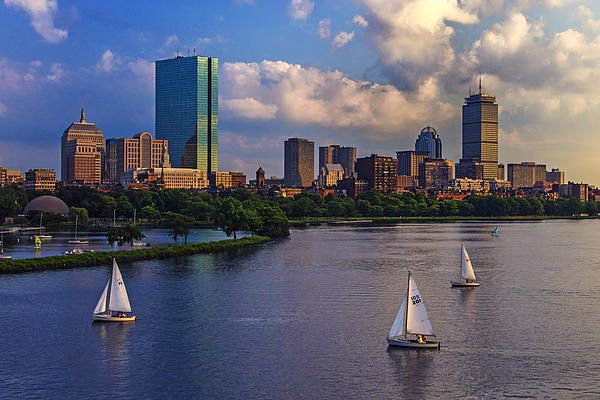Boston Skyline by Rick Berk(fineartamerica)