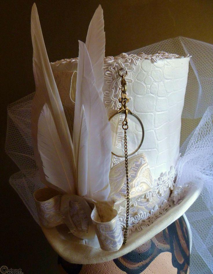 Wedding Cake Topper Hat
