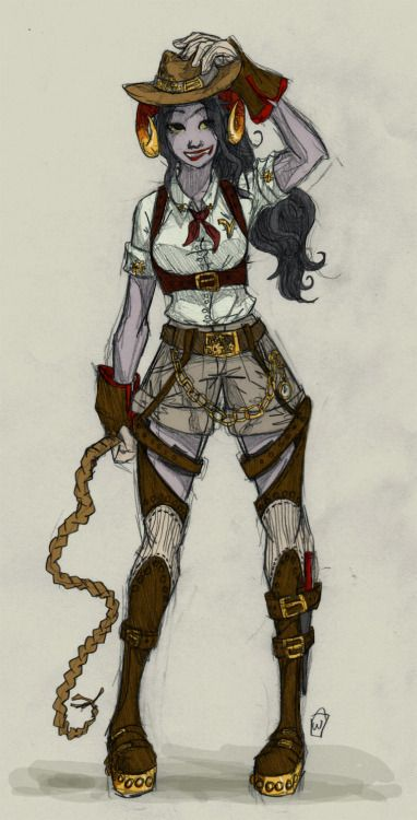 thebucketwhisperer:  going to be offline after this weekend while I cram for finals, so here's my apology in steampunk… Aradia, second in the troll series. Beta Kids | Feferi (trolls incomplete)