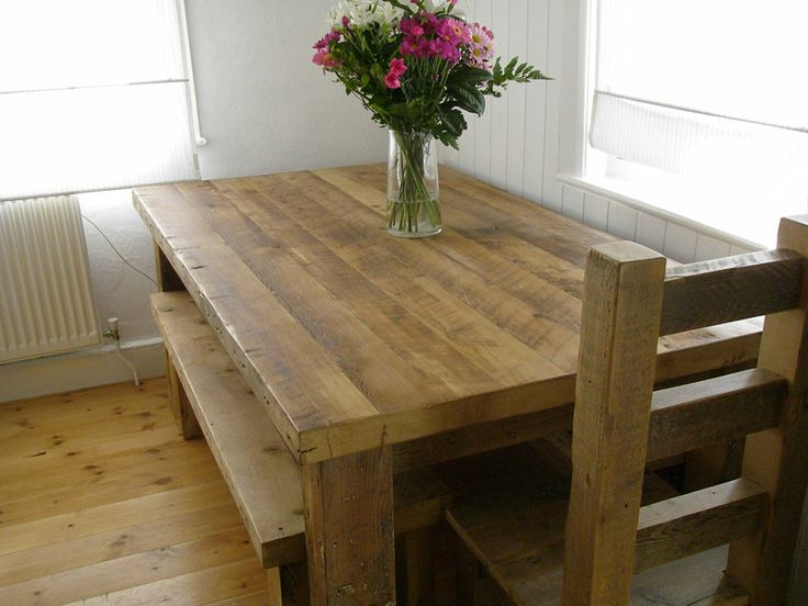 1000+ Ideas About Solid Wood Dining Table On Pinterest