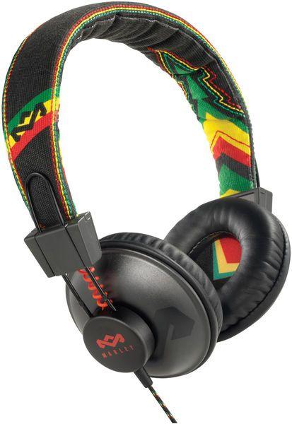 House of Marley - Positive Vibration Rasta - hi-fi supra-aural headphones