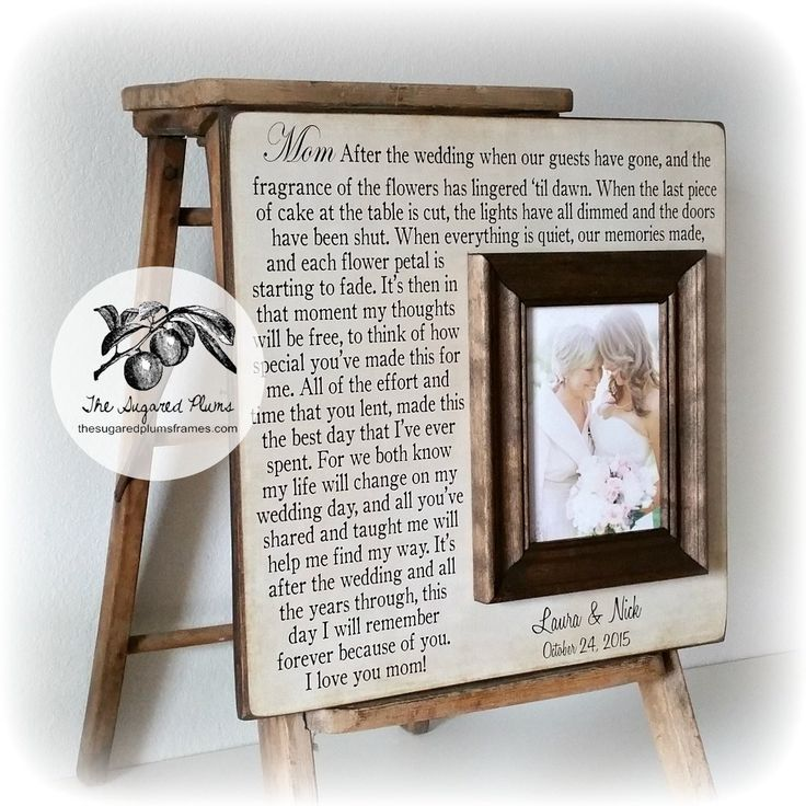 28 best Mother/MIL gifts images on Pinterest | Gift wedding, Bridal ...
