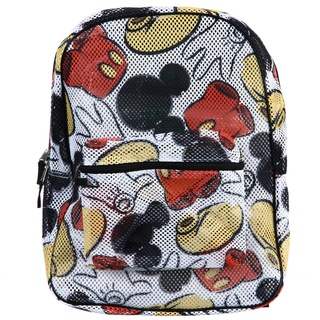 @Overstock.com - Store your belongings in this fun, 17-inch backpack from Disney. This backpack displays an all-over Mikey Mouse print, a mesh construction and is finished with a large compartment and front zipper pocket.http://www.overstock.com/Luggage-Bags/Disney-Mickey-Mouse-All-over-Print-Mesh-Backpack/6660607/product.html?CID=214117 $32.19