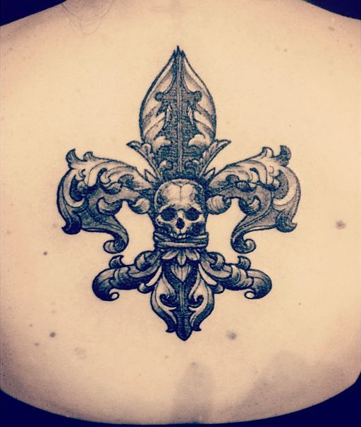 Fleur De Lis Mort Filipinotattoosdesigns Tattoos Ideas