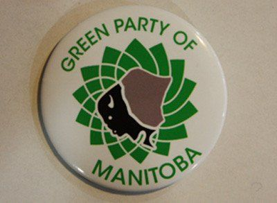 Green Party of Manitoba Buttons