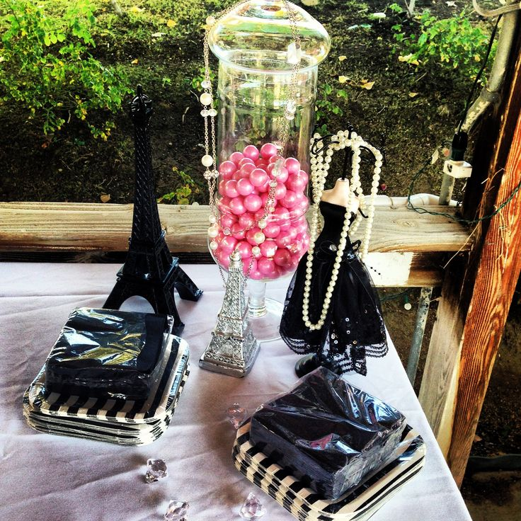 1000 images about parisian themed babyshower on pinterest fashion weeks shops and chanel - Paris decorating ideas ...